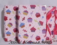 �lbum de Fotos Cupcake 10x15 c/ Pl�stico