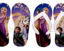 Chinelos Personalizados Rapunzel 03