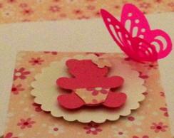 Caixinha Ursinho rosa