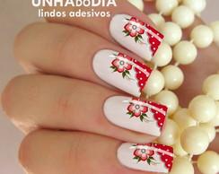Adesivo de Unha - Flor DI788