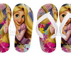 Chinelos Personalizados Rapunzel 05