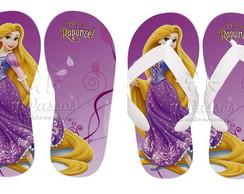 Chinelos Personalizados Rapunzel 06