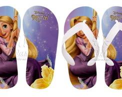 Chinelos Personalizados Rapunzel 07