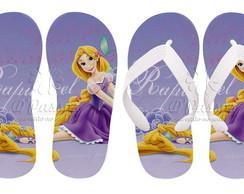 Chinelos Personalizados Rapunzel 08