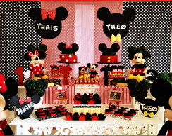 Decora��o Mickey e Minnie Clean