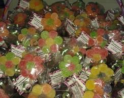 Lembrancinhas em Flor de Bala de Goma