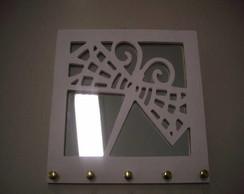 porta chaves em mdf c/ espelho (vendido)