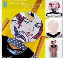 Cabide Pop art