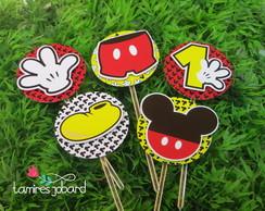 Topper com relevo Mickey