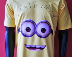 Camiseta Minions Adulto 2 olhos