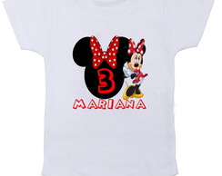 Body personalizado da Minnie