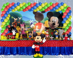 Decora��o infantil A casa do mickey