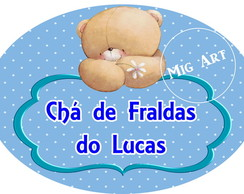 Elipse Urso Forever Friends