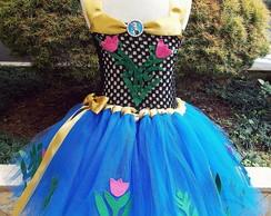 Vestido tutu Anna - Frozen