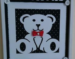 Quadrinho Decorativo - Ursinho Encantado