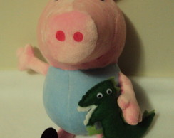 George Peppa pig plush
