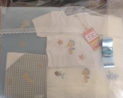Kit para beb� com toalhas e manta