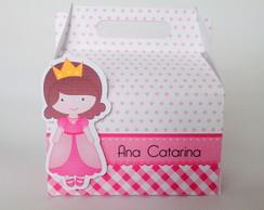 Caixa lancheira Castelo princesa