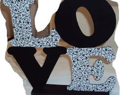 Letras decorativas LOVE MDF