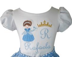 Blusa Infantil Cinderela 1048
