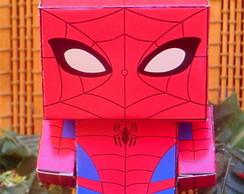 Caixinha Lembrancinha Homem Aranha