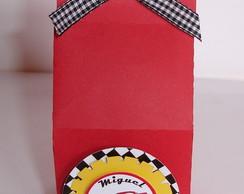 Caixa Milk Tema Carros Disney