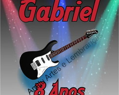TAG ROCK GUITARRA