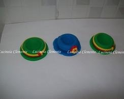 Forminhas p/ doces Chapeu Patati e Patat