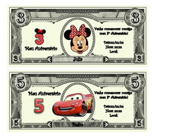 Kit Festa personagens da Disney