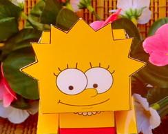 Caixinha Lembrancinha Lisa Simpsons