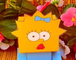 Caixinha Lembrancinha Maggie Simpsons