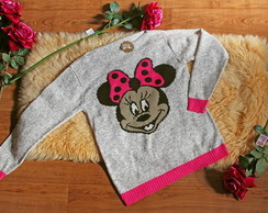 Blusa de Tric� da Minnie