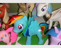 TOPO DE BOLO MY LITTLE PONY BISCUIT