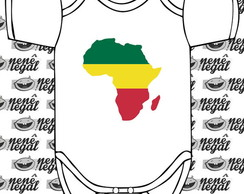 Body Reggae - Africa Map