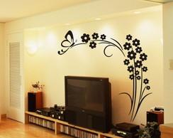 Adesivo Decorativo Arvore Borboleta