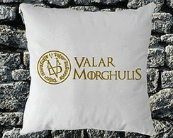 * ALMOFADA- GAMES OF THRONES - VALAR ...