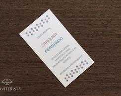 Convite Individual Confete Papel Perolad