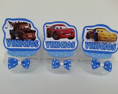 Arranjos de mesas Cars Disney- Carros