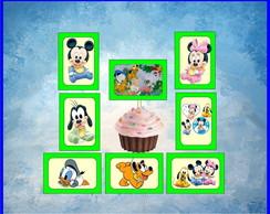 Topper Baby Disney Quadrado 3 x 4cm