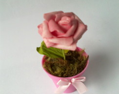 Vasinho de Rosa