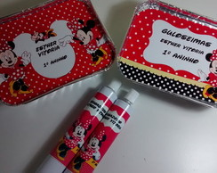 Kit Minnie Marmita e Bisnaga
