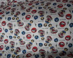 Pijama em malha de 2 anos a 4 anos