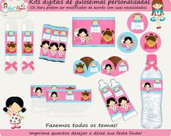 Kit guloseimas digital Festa de pijama