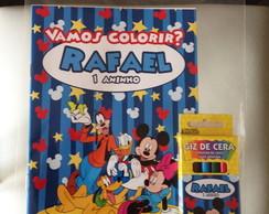 Revista de Colorir do Mickey Disney