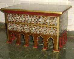 Mesa de apoio estilo marroquino