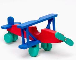 Avi�o de madeira