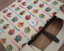 Porta Livro Cupcakes