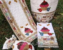 Conjunto p/cozinha Cupcakes