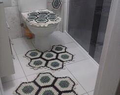 jogo de banheiro barroco