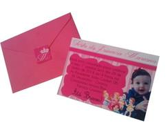 Convite Infantil Personalizado com foto